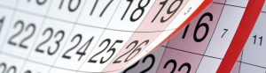 events page calendar listings