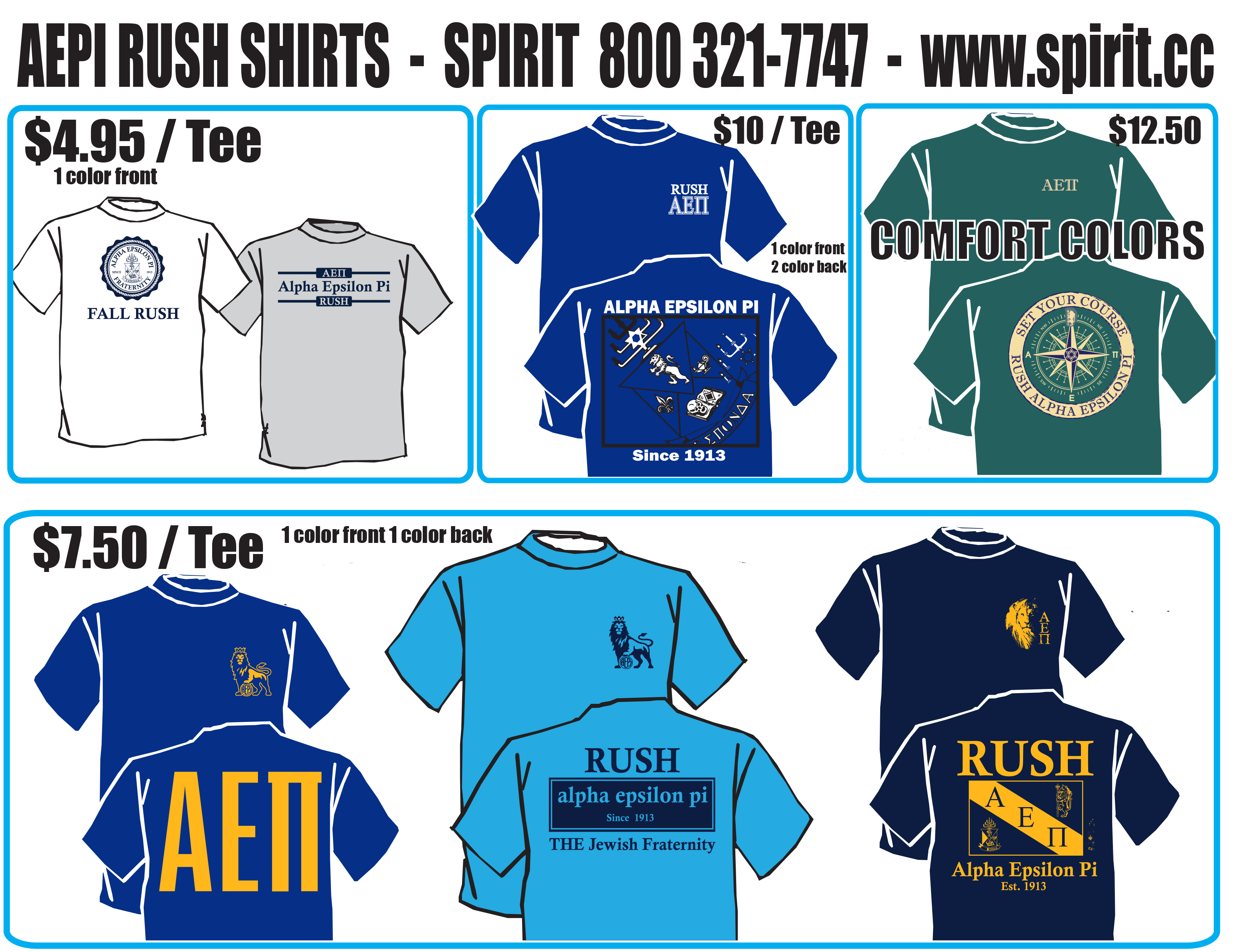 Rush TShirt Full 2018