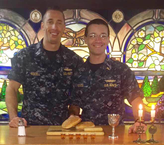 Navy Shabbat