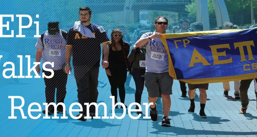 We Walk to Remember CSU AEPi