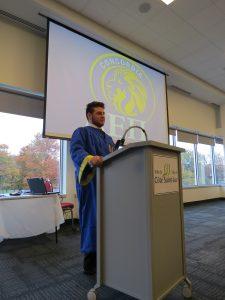 AEPi at Concordia Celebrates Chartering Ceremony