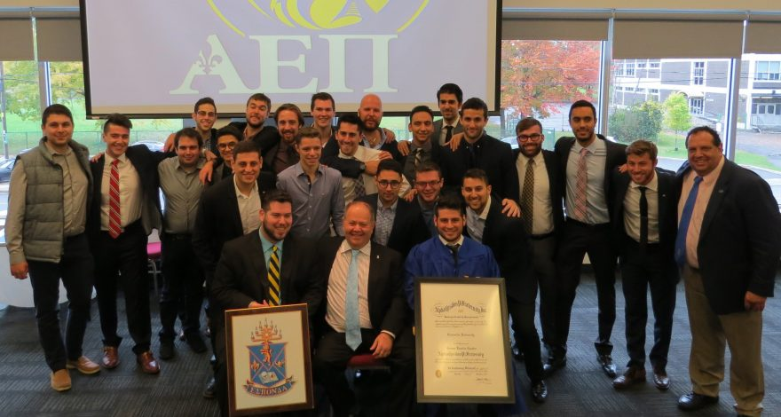 AEPi at Concordia Celebrates Chartering Ceremony