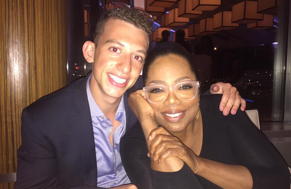 Oprah and Max AEPi