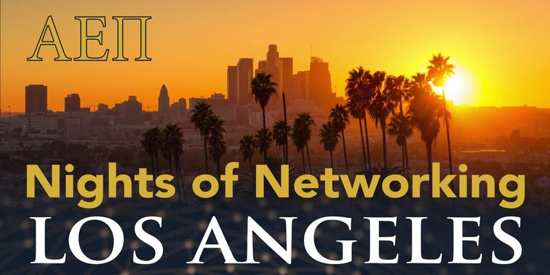 AEPi Los Angeles Night of Networking