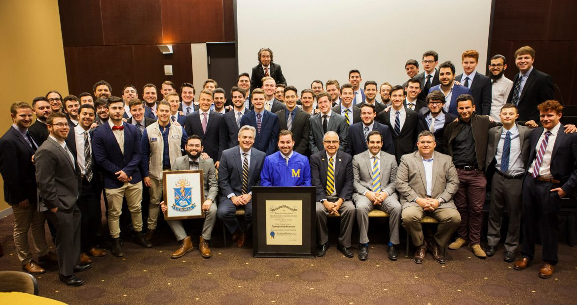 AEPi at ASU Chartering Ceremony