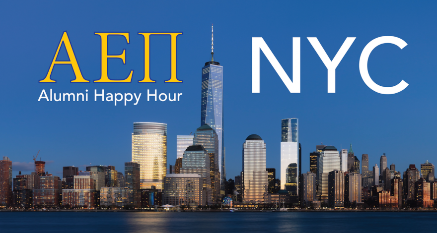 AEPi New York City Alumni Happy Hour