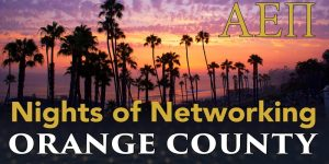 Orange Country Night of Networking AEPi