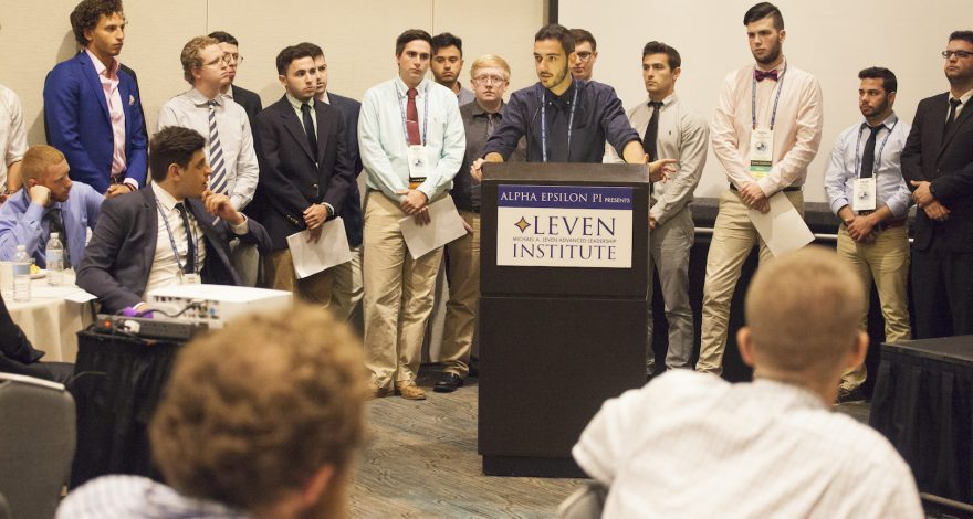 AEPi Summer Leadership Series: Leven
