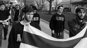 Brothers of AEPi participate in We Walk to Remember annual holocaust remembrance