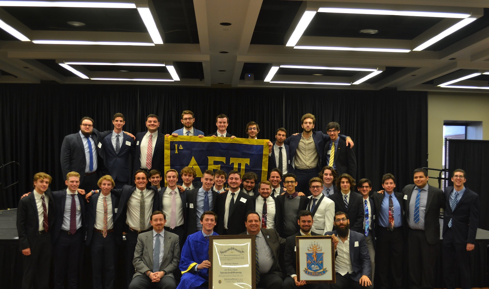 AEPi Alabama Chartering Ceremony