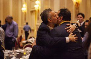Jim and Andy Kissing Andy OTL