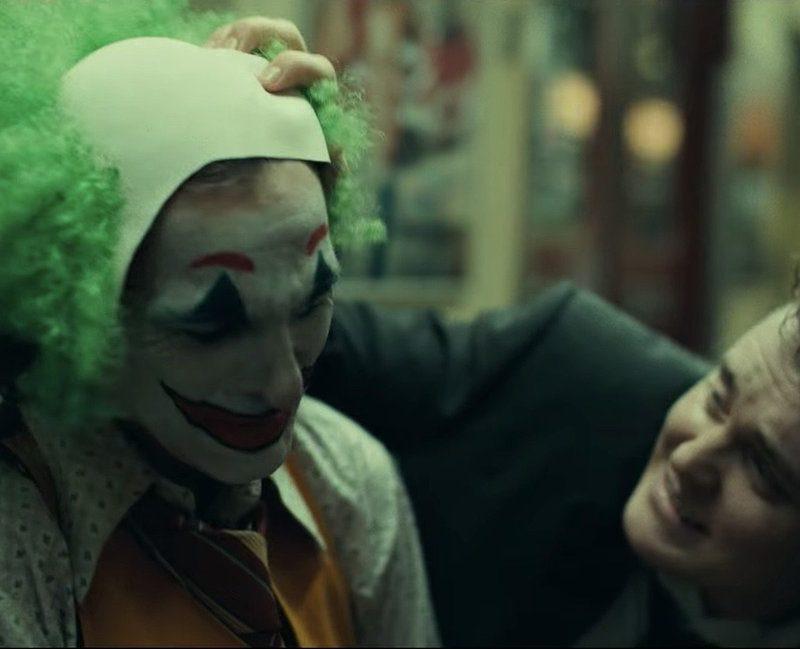 """Brother Ben Warheit (right)  acting opposite Joaquin Phoenix (left) in """"Joker"""""""